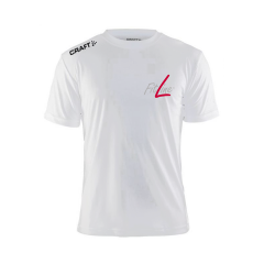 Fitline Mens White T-Shirt